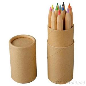 Colored Pencil Tube With Sharpener, Pencil, Colored Pencil, Cartoon Pen, Child Pen, Advertising Pen, Gift Pen, Pen Set,
