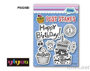 PS024BI Post Stamp