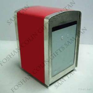 Tissue Box Restaurant Non-Frame Napkin Holder/Dispenser