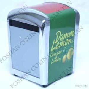 Crown Metal Napkin Dispenser, Tissue Box, Napkin Holder