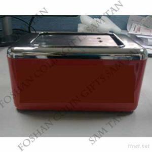 Custom Printing Metal Tin Bar Lying Napkin Holder/ Napkin Dispenser
