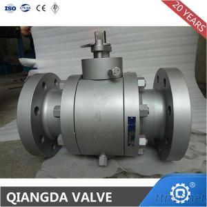 Api6D Trunnion Mounted 3Pc Forged Steel Ball Valve