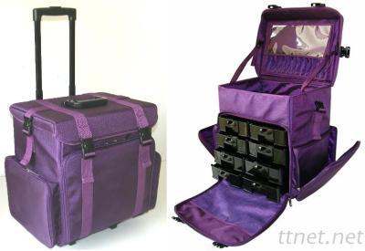 NYLON MAKEUP TROLLEY BAG DB-507BT