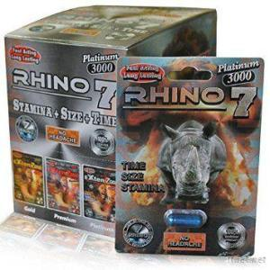 Wholesale Rhino 7 Platinum Pill 3000