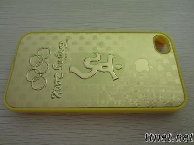 Mobile Phone Gold Foil Sticker Cover
