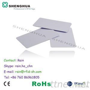 UHF Passive RFID PVC Card For Parking Management