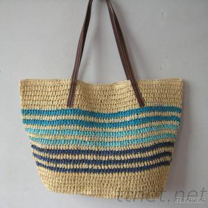Women Straw Beach Bag