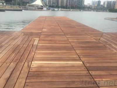 Design and upgrade of concrete floating dock