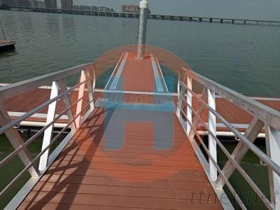 Walkway Panel Plastic Wood Panel Floating Dock Panel Accessories Wholesale Supply