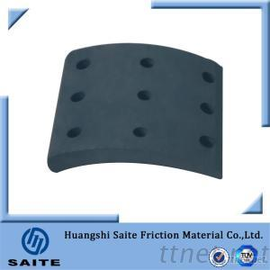 4536ANC Non-Asbestos Reliable Saftety Heavy Truck Brake Lining