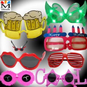 Fancy Plastic Sunglasses/Funny Glasses/Party Glasses