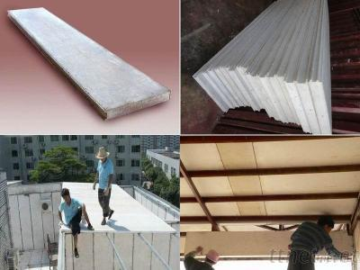 Heat Insulation Plant Fiber FGC Partition Wall Board
