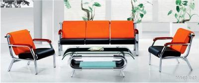 PU Leather Sofa, Leisure Waiting Sofa Chair