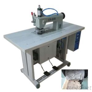 CR-60B Ultrasonic Lace Sewing Non Woven Bag Making Surgical Gown Machine