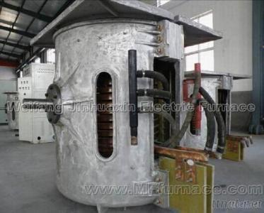 Copper Melting Induction Furnace, Aluminum Shell