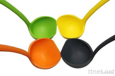 Silicone Tableware Spoons, Silicone Soup Ladle