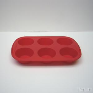 Silicone 6 Cup Muffin Pan