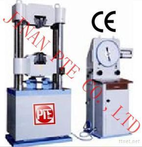 WE-C Series Analog Hydraulic Universal Testing Machine