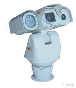 Intelligent IR Hight-Speed PTZ Camera with Dual-IR Illuminator