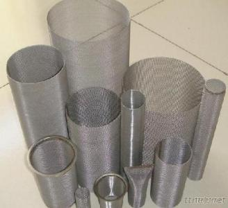 Stainless Steel Mesh Strips, Discs, Tubes & Filters