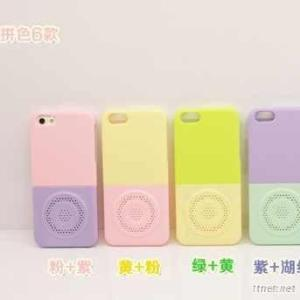 Colorful Mobile Phone Back Cover Speaker