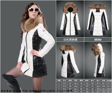 New Women Duck Down Coats With Big Fur