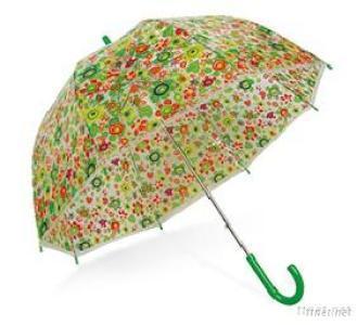 Colorful Floral POE Umbrella