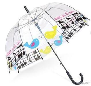 Transparent  Dome Children'S Umbrella