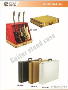 Colorful Guitar Stand Case, Wooden Guitar Stand Box