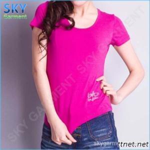 O-Neck Short Sleeve Women'S T Shirt
