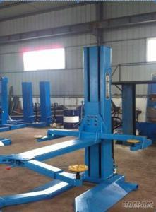 Mobile 2.5Ton Single Post Car Lift With CE Certification