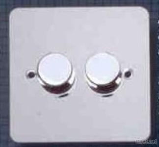 Decorative Chrome Electrical Dimmer