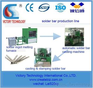 Automatic Tin Bar Casting Machines, Solder Bar Production Line