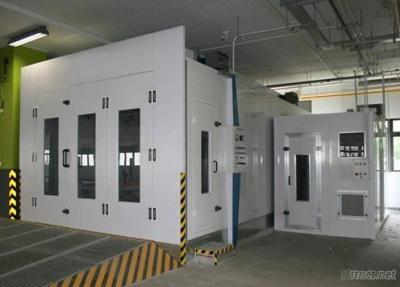 Spray Booth, Paint Mixing Room