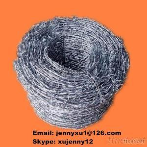 PVC/Galvanized Barbed Wire With Single/Double/Traditional Twist