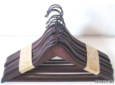 Stocklot Packed 8Pcs Cloth Wood Hangers