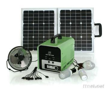 30WP Portable Solar Home System, Solar Panel For Home Use