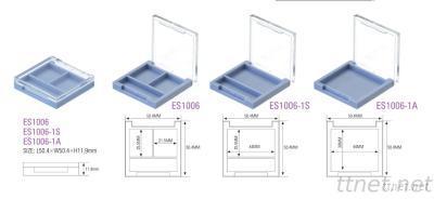 Empty Plastic Eyeshadow Case Packaging