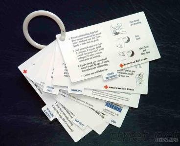 Medical Plastic Cards Set