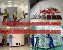Heavy duty air transporters air movers applications