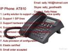 AT810 Without POE Entry Level IP Voip SIP Usb Phone With Broadcom Solution For Call Center DND