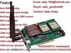 AX2G4A Asterisk GSM Telephony Card Mainboard With PCI Interface Support 2GSM & 4FXO/FXS Voip SMS Gateway Elastix Certified