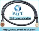 Low Loss 200 coaxial cable, CAB-200/xx, (Telecom parts, WLAN Antenna, RF Connector, WIMAX Antenna)