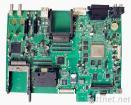 電気通信の速いプロトタイプをとの補強するPIを堅曲げる  1つの停止PCBA解決