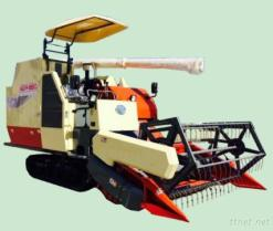 Farm Agricultural Rice &Wheat Combine Harvester Model 4Lz-4.5