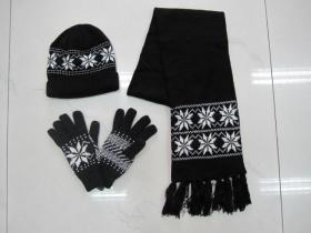 Winter Scarf & Hat & Glove