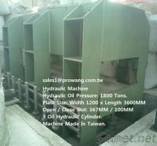 1800/800/600 tonnes de machine hydraulique