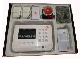 GSM Alarm System With LCD Display