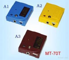 MT-70T het gemakkelijke Sonische Meetapparaat van de Riem van de Pols & Aan de grond gezete Controle
