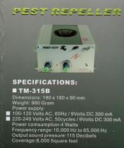 315B het ultrasone Afweermiddel van de Rat/van het Ongedierte (het Gebruik van het Pakhuis)